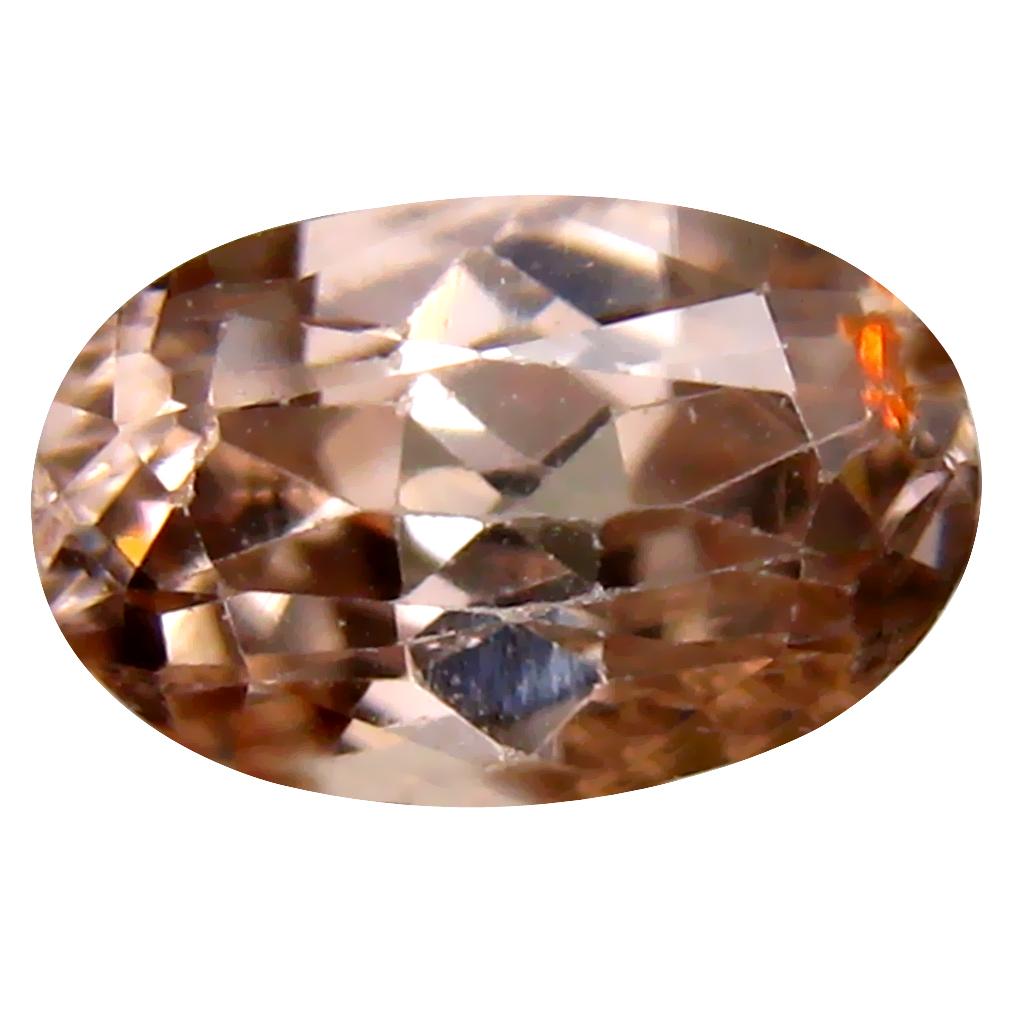 2.80 ct Unbelievable Oval Cut (10 x 6 mm) Un-Heated Brown Zircon Natural Gemstone