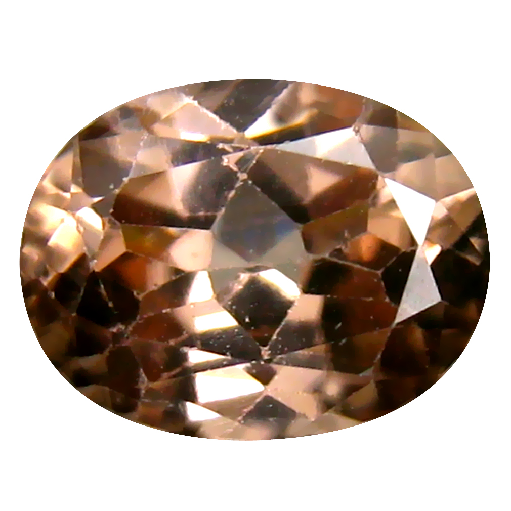 2.72 ct Valuable Oval Cut (9 x 7 mm) Un-Heated Brown Zircon Natural Gemstone