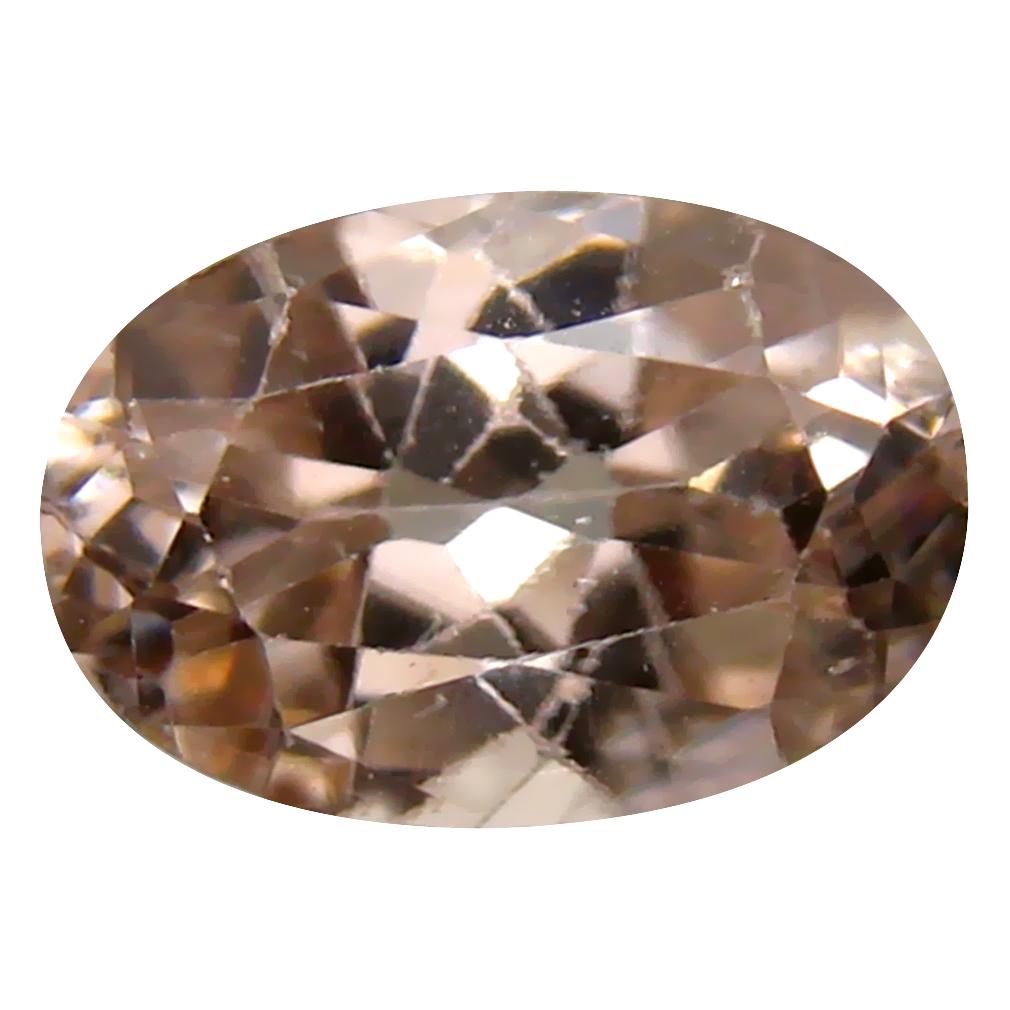 2.75 ct Phenomenal Oval Cut (10 x 7 mm) Un-Heated Brown Zircon Natural Gemstone