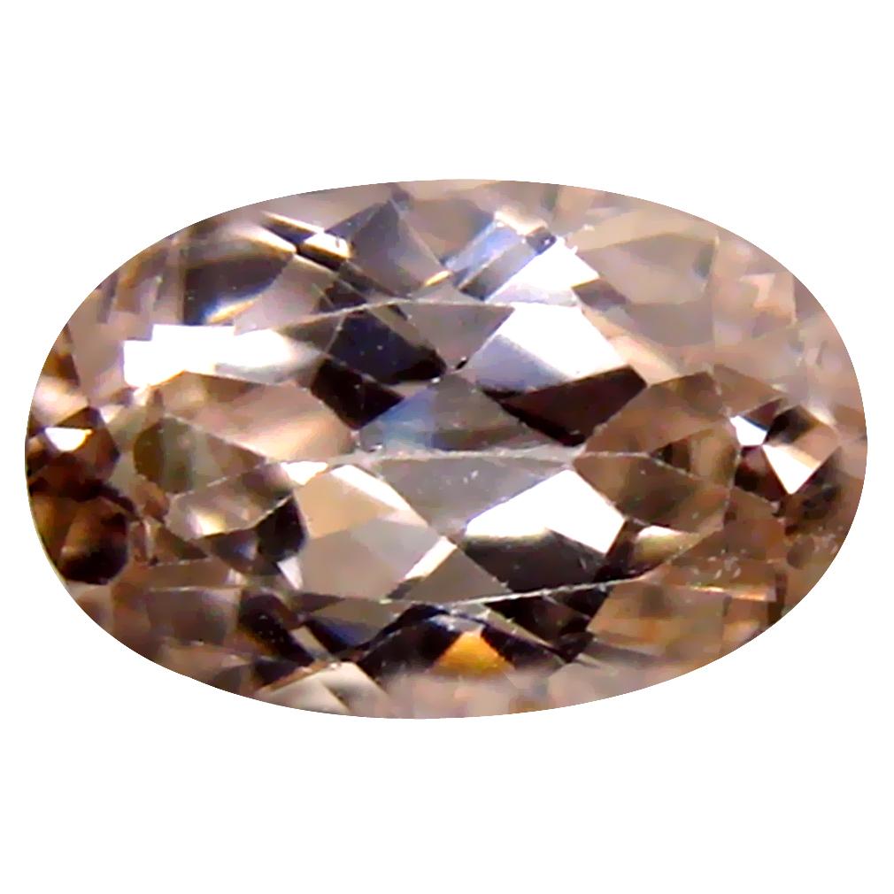 1.87 ct Terrific Oval Cut (9 x 6 mm) Un-Heated Brown Zircon Natural Gemstone