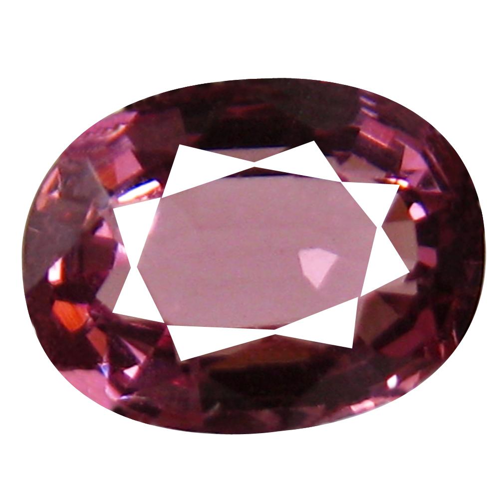 1.11 ct AAA+ Fabulous Oval Shape (7 x 5 mm) Pinkish Red Rhodolite Garnet Natural Gemstone
