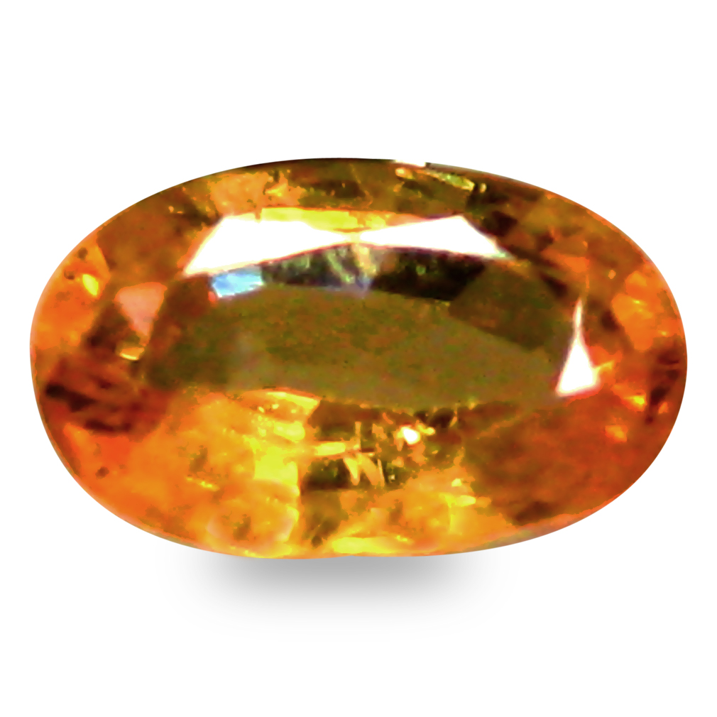 0.58 ct AAA+ Significant Oval Shape (6 x 4 mm) Natural Yellow Sapphire Loose Stone