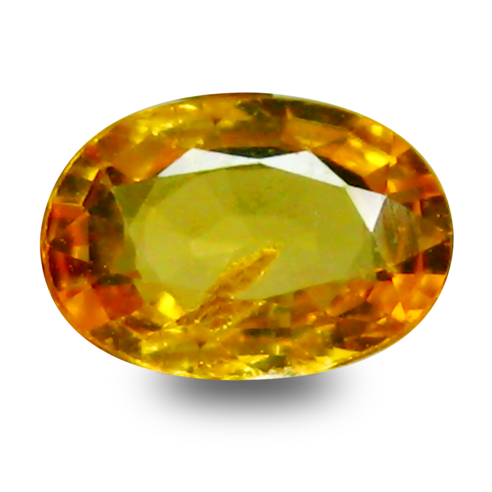 0.46 ct AAA+ Outstanding Oval Shape (6 x 4 mm) Natural Yellow Sapphire Loose Stone