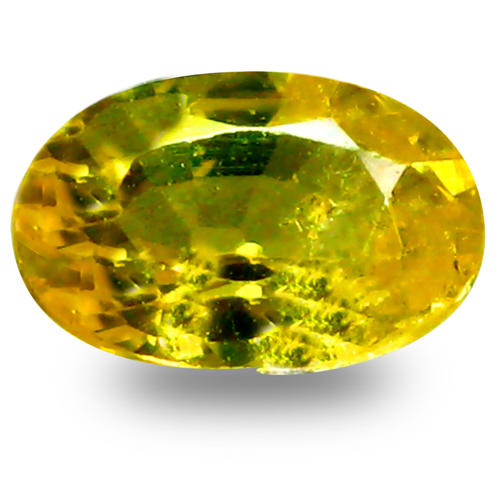 0.57 ct AAA+ World class Oval Shape (6 x 4 mm) Natural Yellow Sapphire Loose Stone