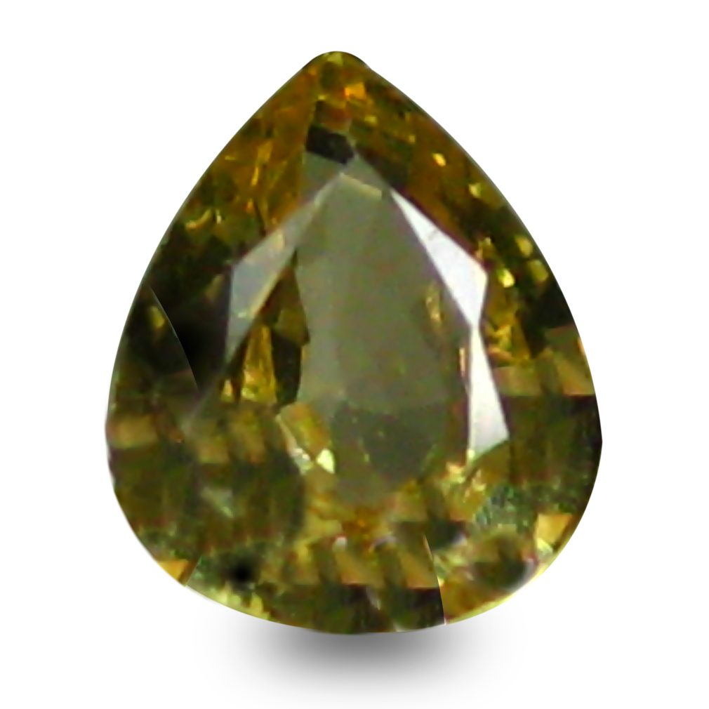 0.37 ct AAA+ Magnificent fire Pear Shape (5 x 4 mm) Natural Yellow Sapphire Loose Stone