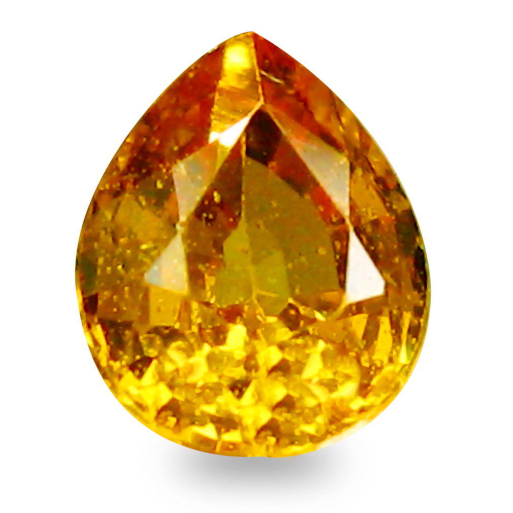 0.43 ct AAA+ Grand looking Pear Shape (5 x 4 mm) Natural Yellow Sapphire Loose Stone