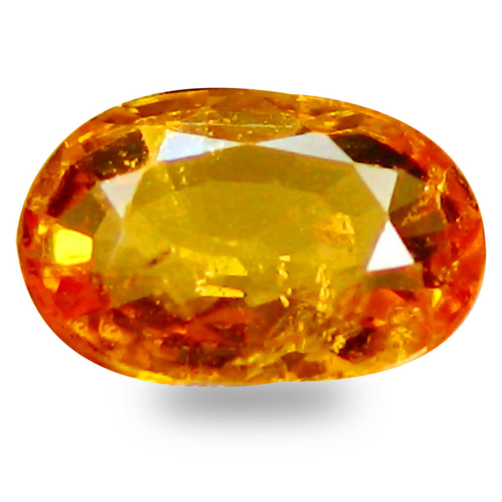 0.52 ct AAA+ Best Oval Shape (6 x 4 mm) Natural Yellow Sapphire Loose Stone