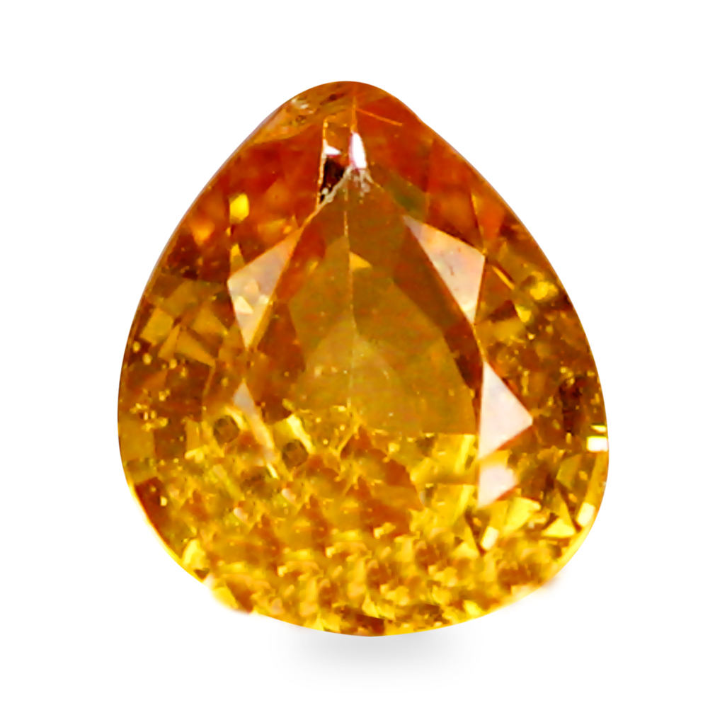 0.36 ct AAA+ Phenomenal Pear Shape (5 x 4 mm) Natural Yellow Sapphire Loose Stone