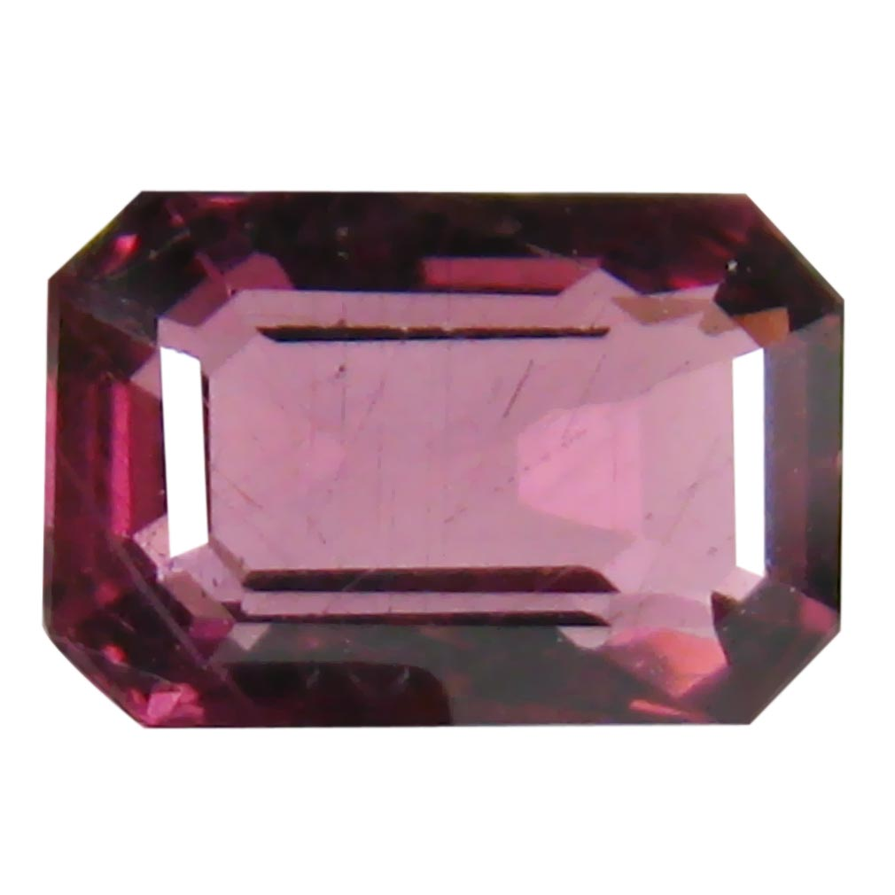 1.27 ct AAA+ Elegant Octagon Shape (7 x 5 mm) Pinkish Red Rhodolite Garnet Natural Gemstone