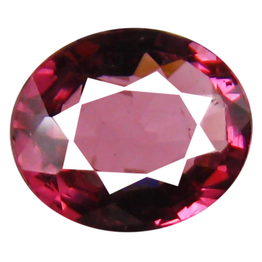 1.48 ct AAA+ Tremendous Oval Shape (8 x 6 mm) Pinkish Red Rhodolite Garnet Natural Gemstone