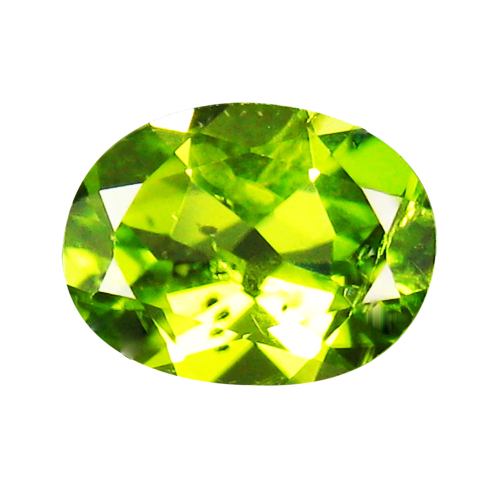 1.99 ct Excellent 9 mm Oval Shape Un-Heated Green Peridot Natural Gemstone